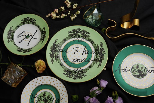 Artemest and Richard Ginori Introduce 'The Road to Heaven is Paved With Excess', the Enchanting Porcelain Collection That Reinterprets Iconic Motifs by the Florentine Maison and Inspired by Poet William Blake