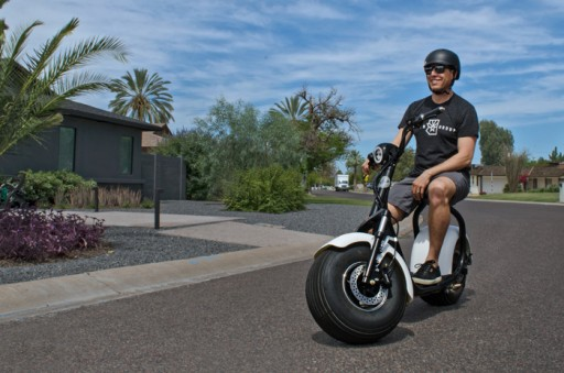 Arizona Startup Launches an Electric Scooter That Goes 30-50 Miles on a Single Charge