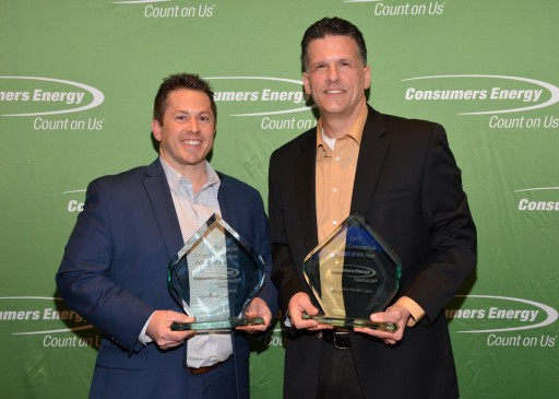 Consumers Energy Awards Future Energy Group and McLaren Health Care Project of the Year