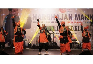 Shamrock Bhangra opened the show with a performance of traditional Punjabi folk dances.