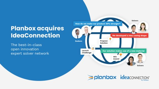 Planbox Acquires IdeaConnection, the Best-in-Class Open Innovation Expert Solver Network