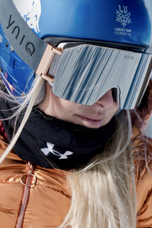 Yniq: Lindsey Vonn's Limited Edition Goggle Available in the US