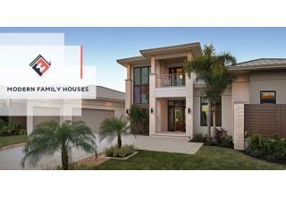 Modern Family Houses Custom Home