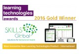 SKILLS Global won Learning Technologies Award