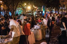 The first of the Church of Scientology block parties in downtown Clearwater for 2018