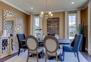 Allen Model Dining Room at Trafford Place in Naperville