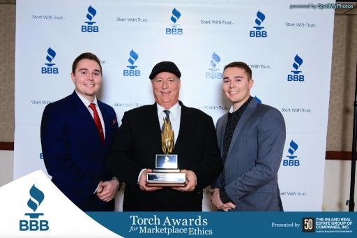 King Heating, Cooling, and Plumbing: 2017 Better Business Bureau Torch Award for Marketplace Ethics Winners