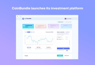 The CoinBundle Platform UI