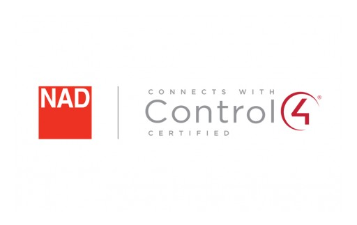 NAD Smart Audio Solutions Are Now Control4® Certified