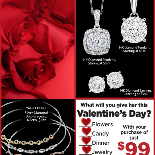 Huntington Fine Jewelers Provides No-Fuss Valentine's Day Gift Package With Jewelry Purchase