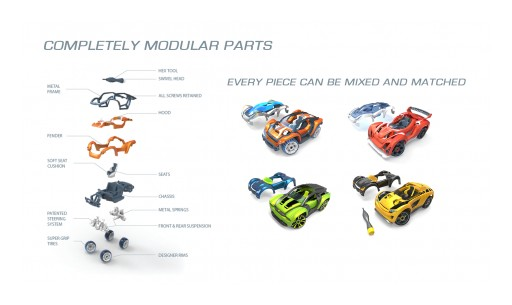 Kickstarter Funds Toy Car Monthly Subscription Campaign on First Day! | Modarri - the Ultimate Toy Car