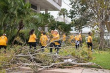 In the aftermath of Hurricane Irma, Volunteer Ministers mobilized to return the Tampa Bay area to normal.