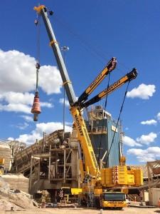 Wagstaff Crane 900 Ton Crane