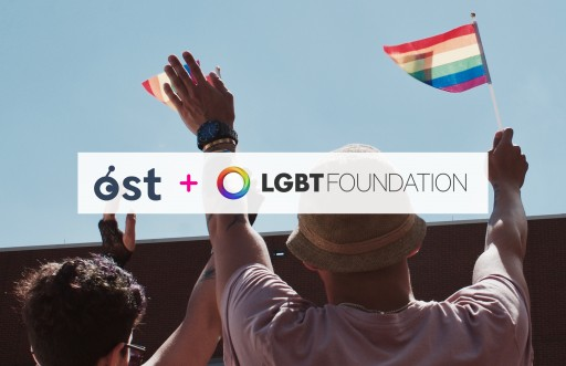 Blockchain With Pride: LGBT Foundation and OST Announce Partnership to Launch Global LGBT+ Ecosystem