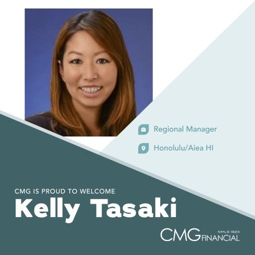 CMG Financial Welcomes Kelly Tasaki, Regional Manager of Hawaii