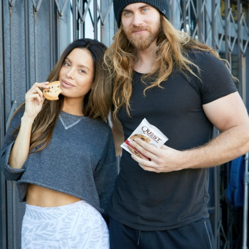 Quest Nutrition Launches New Line of Protein Cookies With Fitness Sensations Brock O'Hurn and Sarah Stage