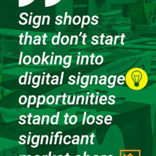 New White Paper Explores the Digital Signage Opportunities for Sign Companies and Print Providers
