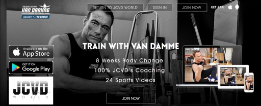 Lancement Mondial Du Programme TRAIN WITH VAN DAMME