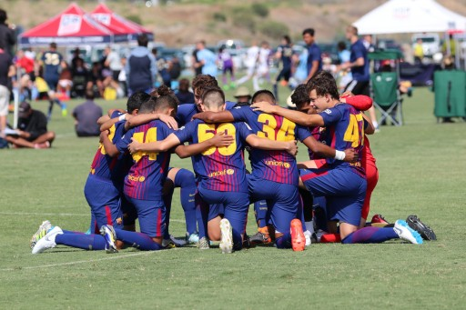 Barca Residency Academy's U17 Team Advances to 2018 Ussda Semifinals