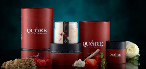 Love is in the Air With Quore Gelato and the Best Luxury Packaging