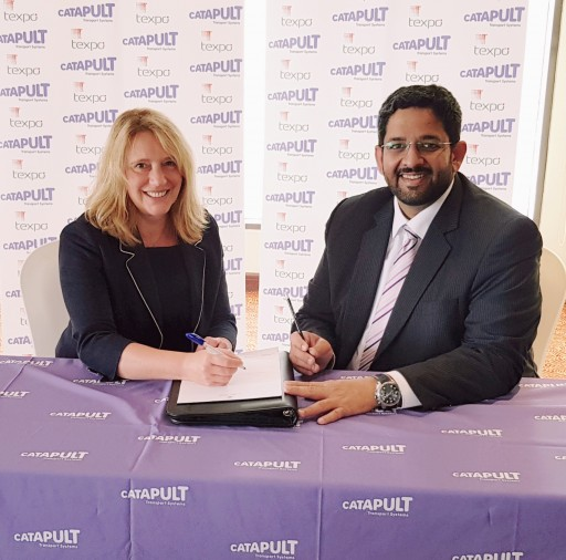 The Transport Systems Catapult and TEXPO Partner for Innovation in Middle East
