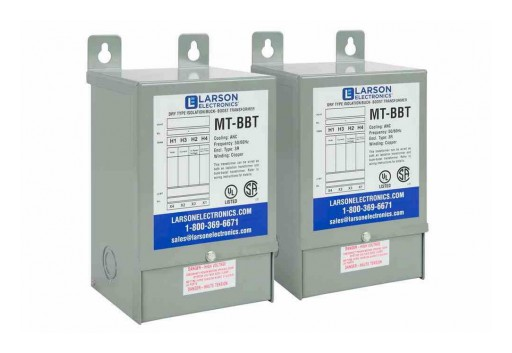 Larson Electronics Releases 3P Delta Buck & Boost Step-Up Transformer, 208V Primary, 230V Secondary