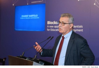 Minister for Education and Employment, Dr. Evarist Bartolo