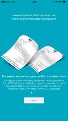 certified translation app