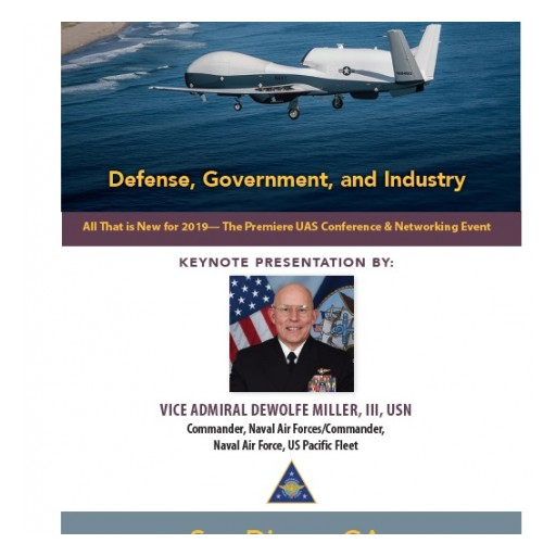 """Technology Training Corporation (TTC) Announces 'Unmanned Aircraft Systems West"""" for Defense and Government"""