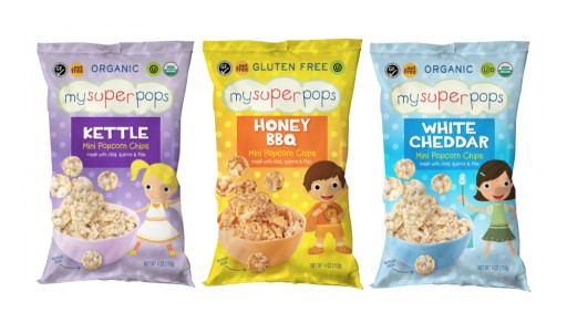 MySuperFoods Company LLC Launches Its First Savory Snack for Kids, MySuperPops, Whole Grain Mini-Popcorn Chips