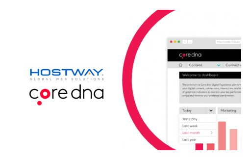Core dna and Hostway to Provide a Completely Managed Web Application Platform