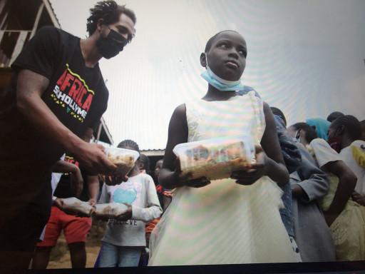 SchollyME Leadership Feeds Hundreds of Kids During Second Trip to Kiberia, Kenya
