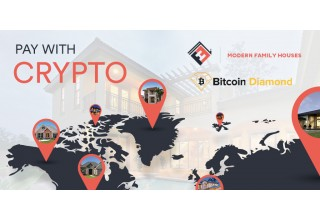 Pay with Crypto at Modern Family Houses