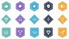Example Open Badges available via Learning Machine