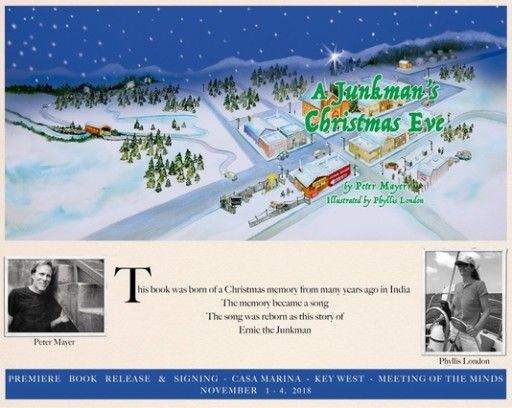 Singer-Songwriter Peter Mayer of Jimmy Buffett Band Releases Illustrated Christmas Book