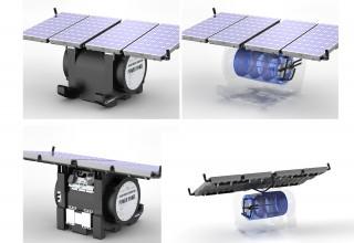 Power Panel: Gen-2-O - Portable Solar-Thermal Generator