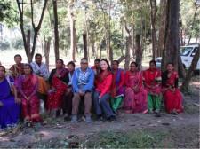 Dorene Petersen in Nepal