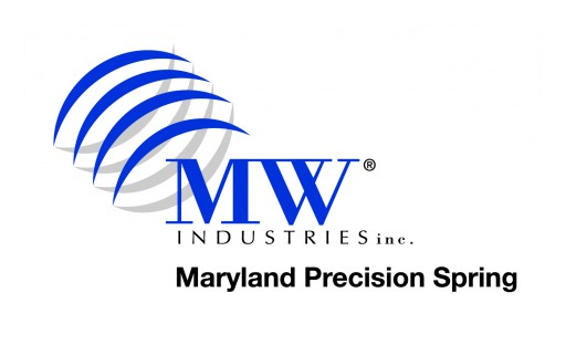 Maryland Precision Spring, an MW Industries Company, Achieves AS9100D/ISO 9100:2015 Certification