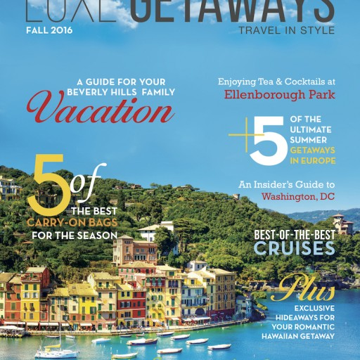 LuxeGetaways Magazine's Premier Issue Launches