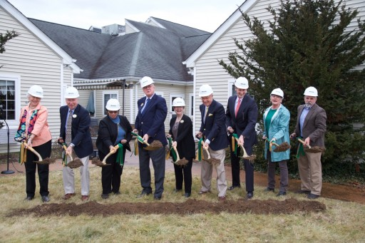 Groundbreaking Changes for Continuing Care Retirement Community Kendal at Lexington