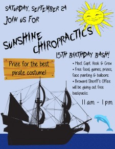 Come join us at 15th Anniversary Pirate Themed Birthday Party