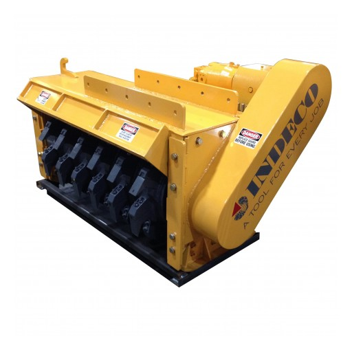 Indeco North America IMH Mulching Heads Named to Equipment Today's 2019 Contractors' Top 50 New Products