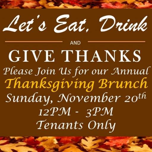 TENTEN Wilshire Rooftop: Annual Tenant Friendsgiving