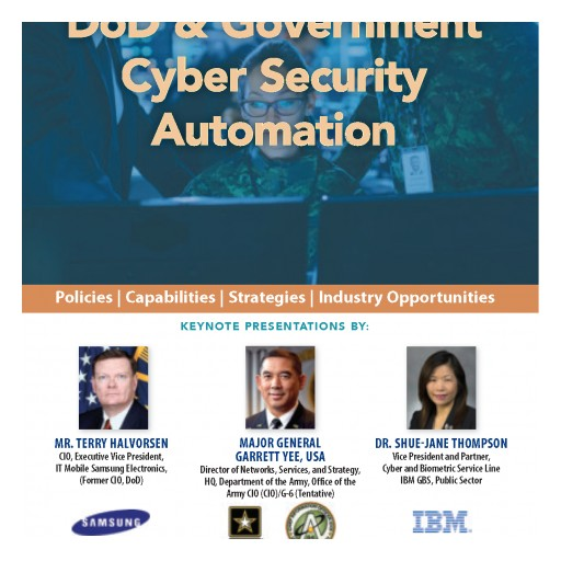 "Technology Training Corporation (TTC) Has Partnered With the Cyber Security Forum Initiative (CSFI) to Announce ""Cyber Security Automation 2018""  on July 19th & 20th 2018 for DoD and Government"