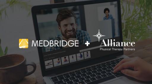 Alliance PTP Partners With MedBridge to Provide Telehealth Services