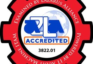 Lazarus Alliance is an A2LA ISO/IEC 17020 accredited organization