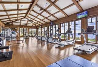 Just oneof the new amenities — our fitness center.