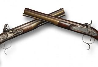 Original Hamilton - Burr Dueling Pistols