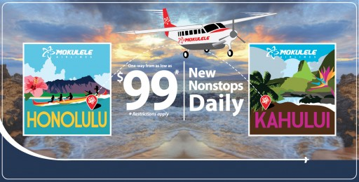 Mokulele Creates New Non-Stop Route to Fill Market Need