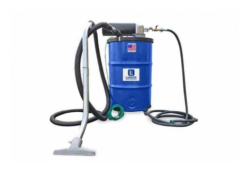 Larson Electronics Releases Explosion-Proof Vacuum for RENT, 55 Gal Capacity, 85 CFM, HEPA Certified
